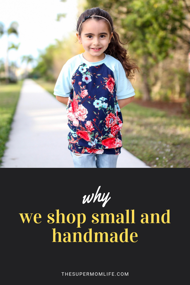 There's something so special about small shops. You are purchasing handmade pieces and supporting a family and small business owner. Meet Random Rompers.
