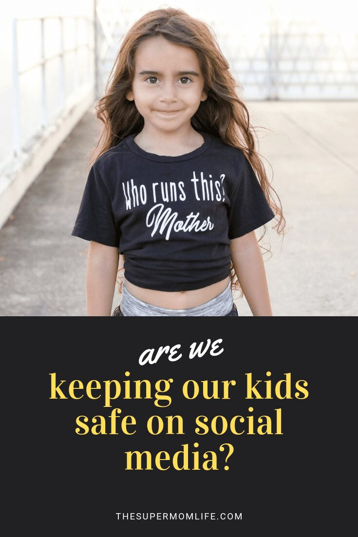 You wouldn't allow your kids to share their location online, so why do we, as parents forget that checking in is putting our kids at risk?