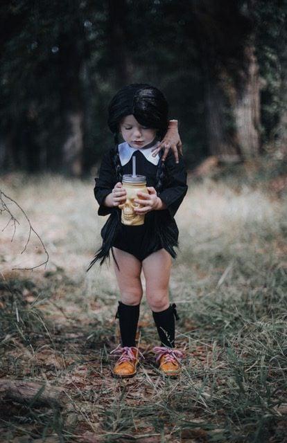 Wednesday Adams Costume for Kids - Halloween costume