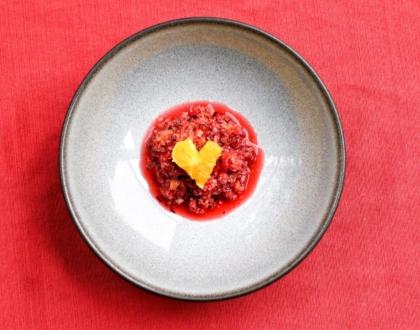 Fresh Cranberry Orange Relish Recipe