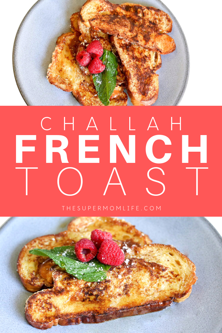 This challah french toast is not only crispy and delicious, but is a family favorite in our home.