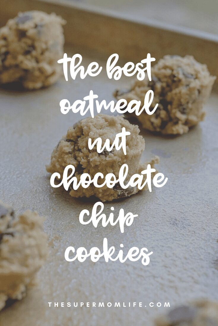 Love oatmeal? Love chocolate chips? Love nuts? You'll absolutely love these cookies!