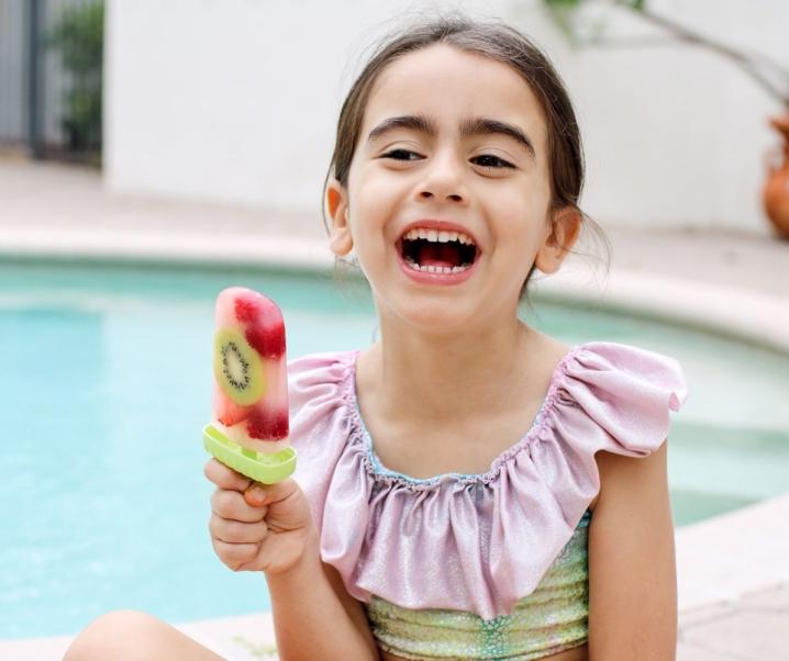 Summer Fresh Fruit Popsicles