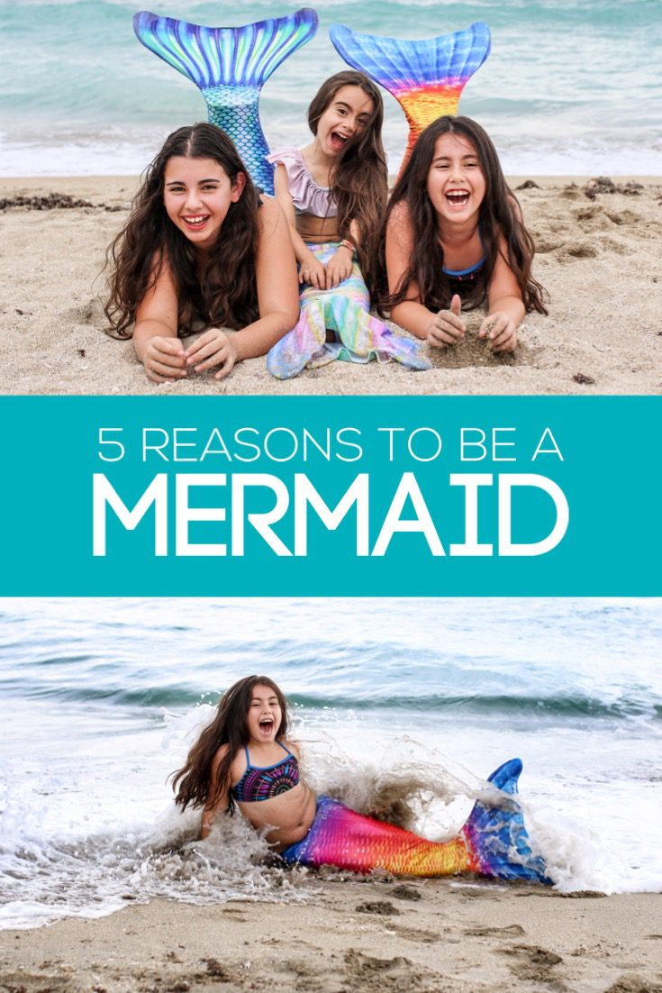 I sat down with my three daughters to find out why they want to be a mermaid. The answers turned out better than I imagined they would.