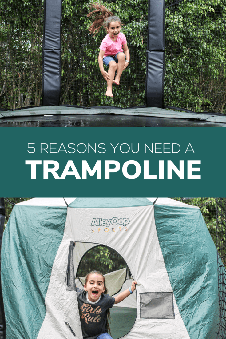 If you're thinking about getting a trampoline for your home, I've compiled a list of 5 reasons that you should consider it.