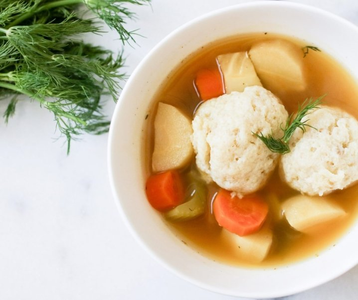 Vegetarian Matzo Ball Soup – A Twist on a Classic