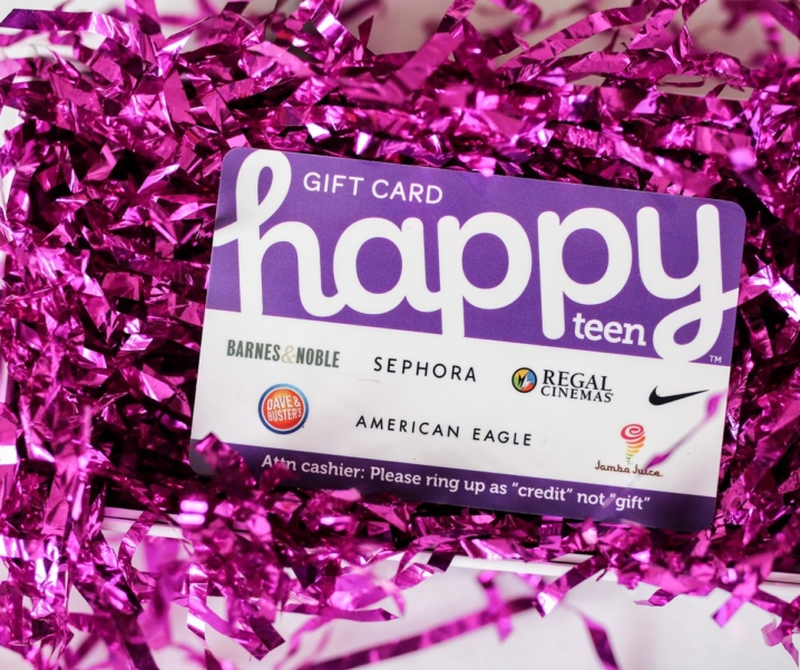Happy Cards – The Perfect Gift + Your Chance to Win a $200 Happy Teen Card!
