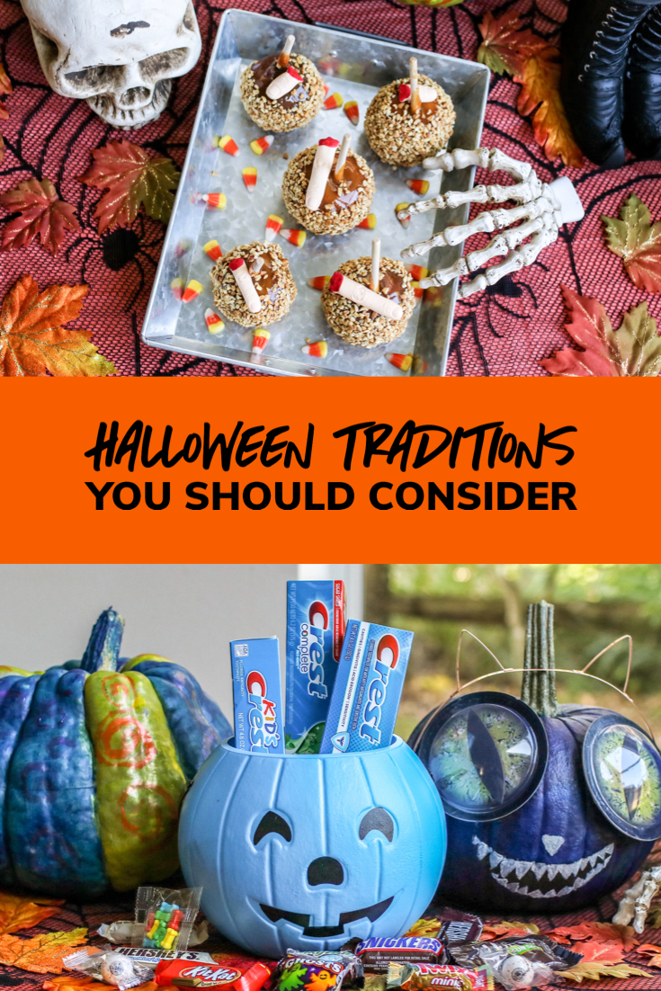 From the pumpkin patch to counting candy at the end of the night, my kids look forward to our Halloween traditions every year.