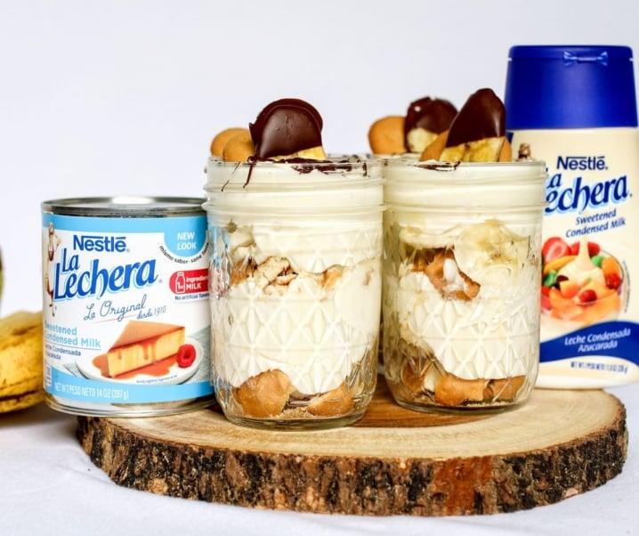 Individual Banana Pudding Jar Recipe feat. NESTLE® LA LECHERA®