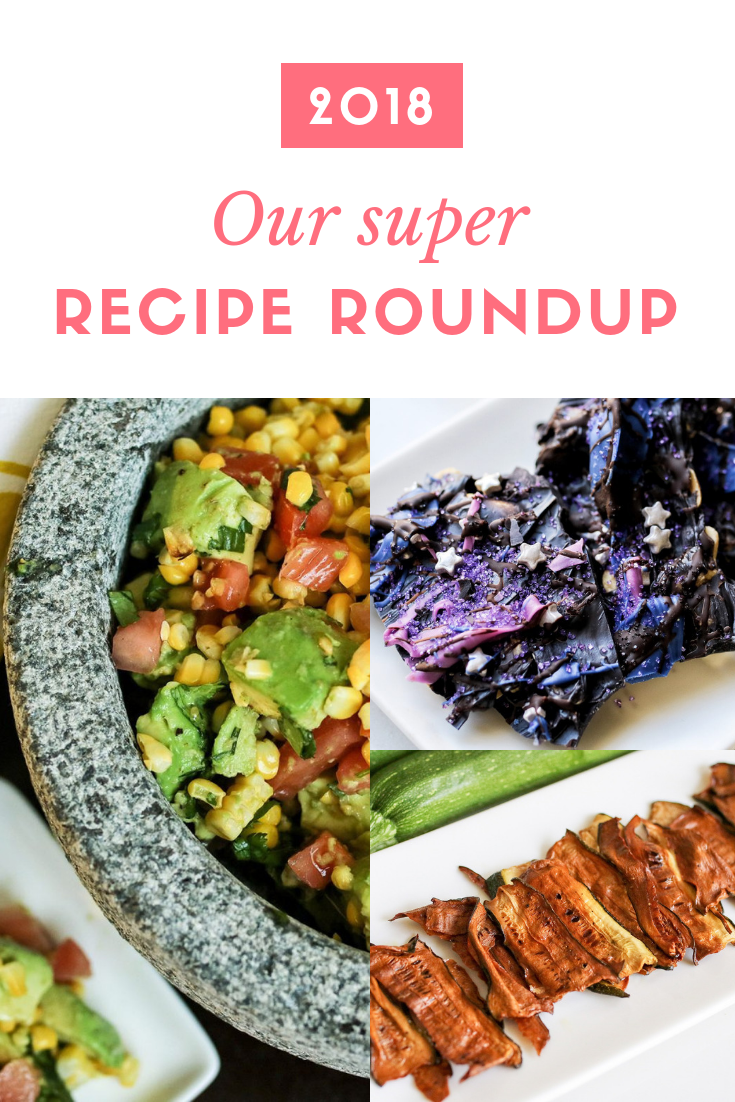 Our favorite recipes from 2018 all in one place.