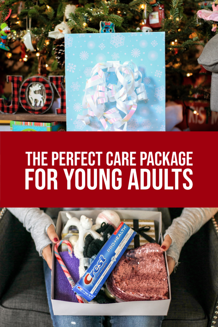 #ad Gift giving just got a little more difficult now that we have a young adult to shop for. So, I've come up with the perfect holiday care package for young adults. @crest @samsclub #CrestSmiles