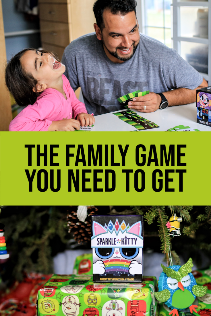 Sparkle*Kitty is a fun, family game that will get everyone off of their devices, around the table, laughing and having a great time.