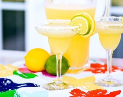 The Yummiest Non-Alcoholic Margarita Ever