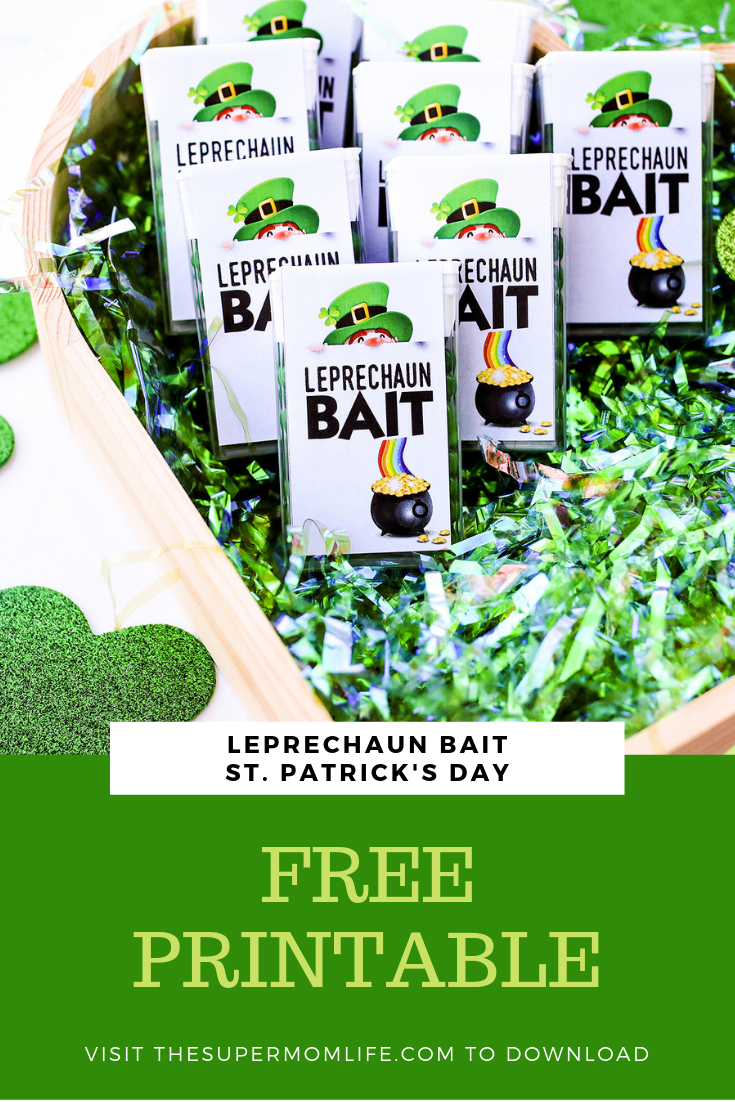 Looking for a fun little handout for your kids to give on St. Patrick's Day? This Leprechaun Bait is perfect and so easy to make.