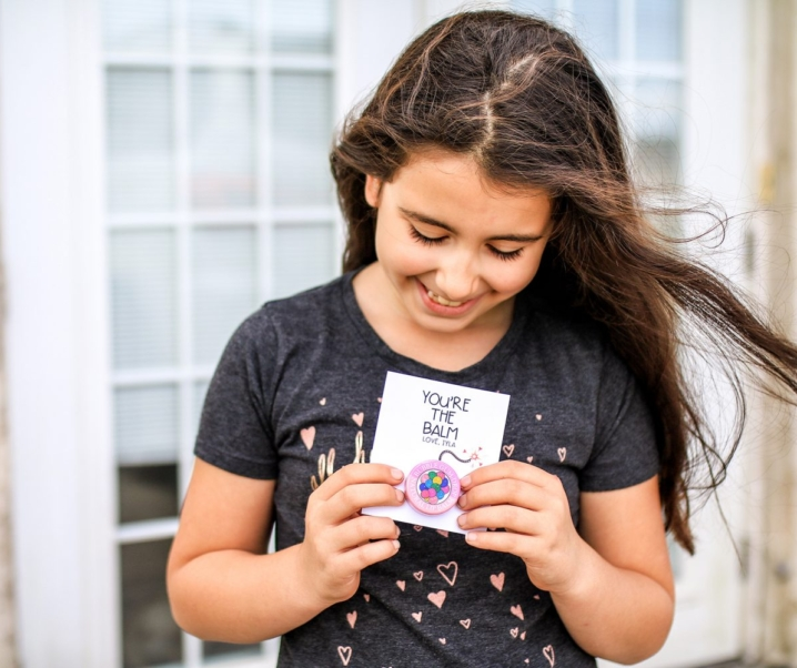 You're the Balm Valentine for Kids PLUS Free Printable