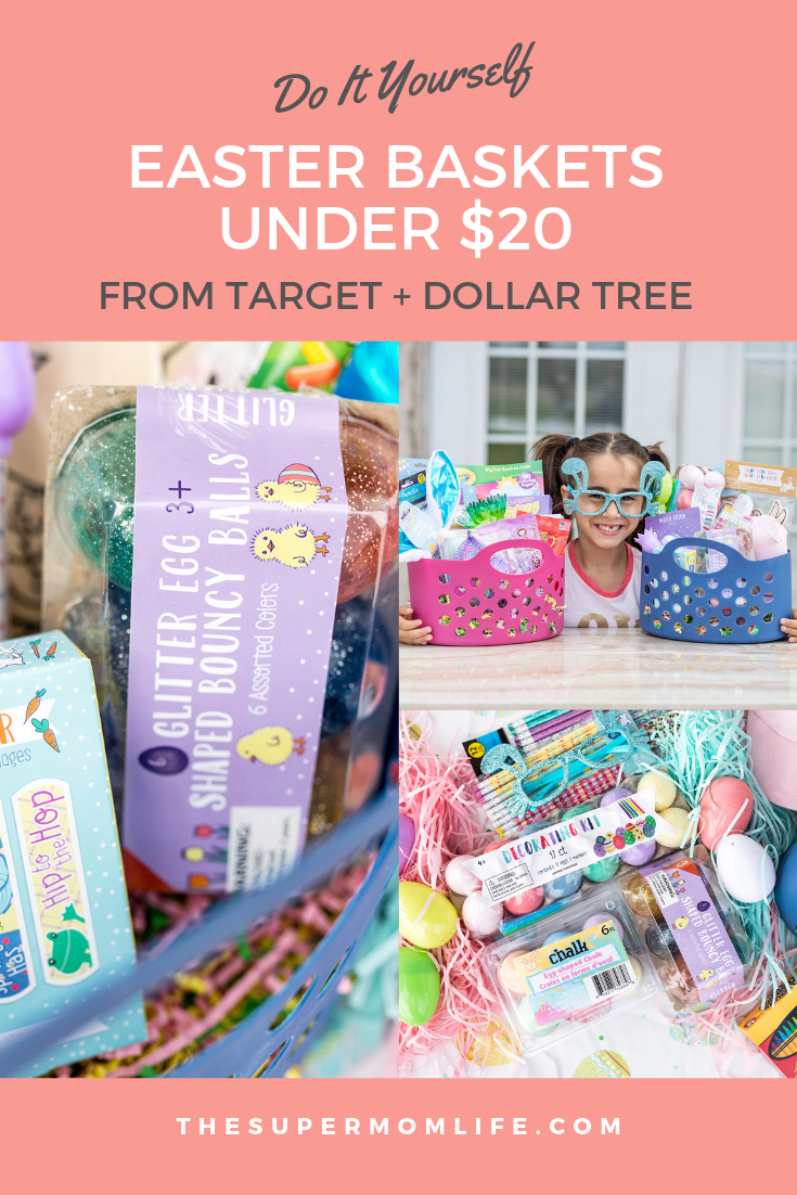 You don't have to spend a fortune on Easter baskets, especially with places Target. Here are my Easter Baskets on a Budget ideas.