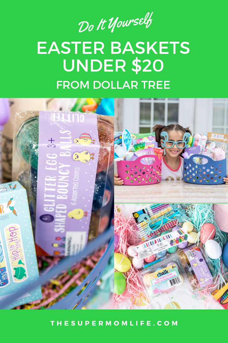 You don't have to spend a fortune on Easter baskets, especially with places Dollar Tree. Here are my Easter Baskets on a Budget ideas.