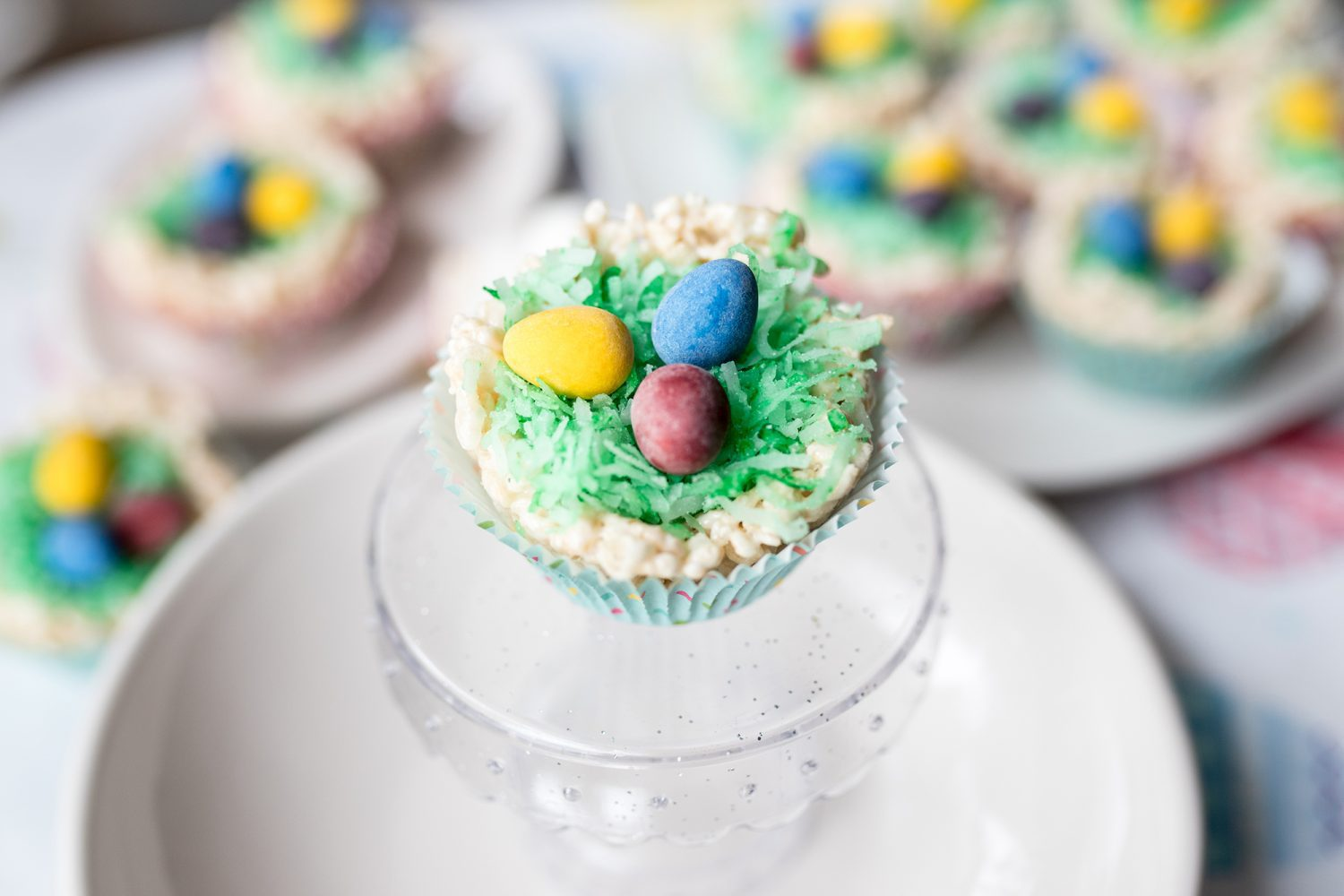 simple easter recipe, easy easter recipe, rice krispie treats, treats for easter, rice krispie treat recipe, rice krispie treat nest, food for easter, recipes for easter, easter, kids, diy, 2019, ideas for easter, recipes for kids