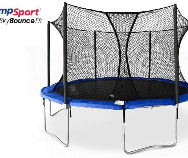 Giveaway: Who Wants to Win a 14′ JumpSport Trampoline?