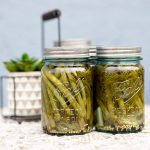 small batch canning, ball mason jars, new traditions, summer traditions, pickled dilly beans, hobby, summer, fresh, quality, preserve, share, easy, how to, mommy blog, mom blogger, family blog, family influencer, the super mom life, dad blog, dad blogger
