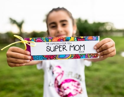 Super Mom Coupon and Activity Book with Free Printable