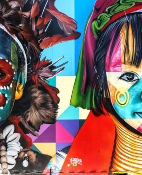 Wynwood Walls in the Miami Art District