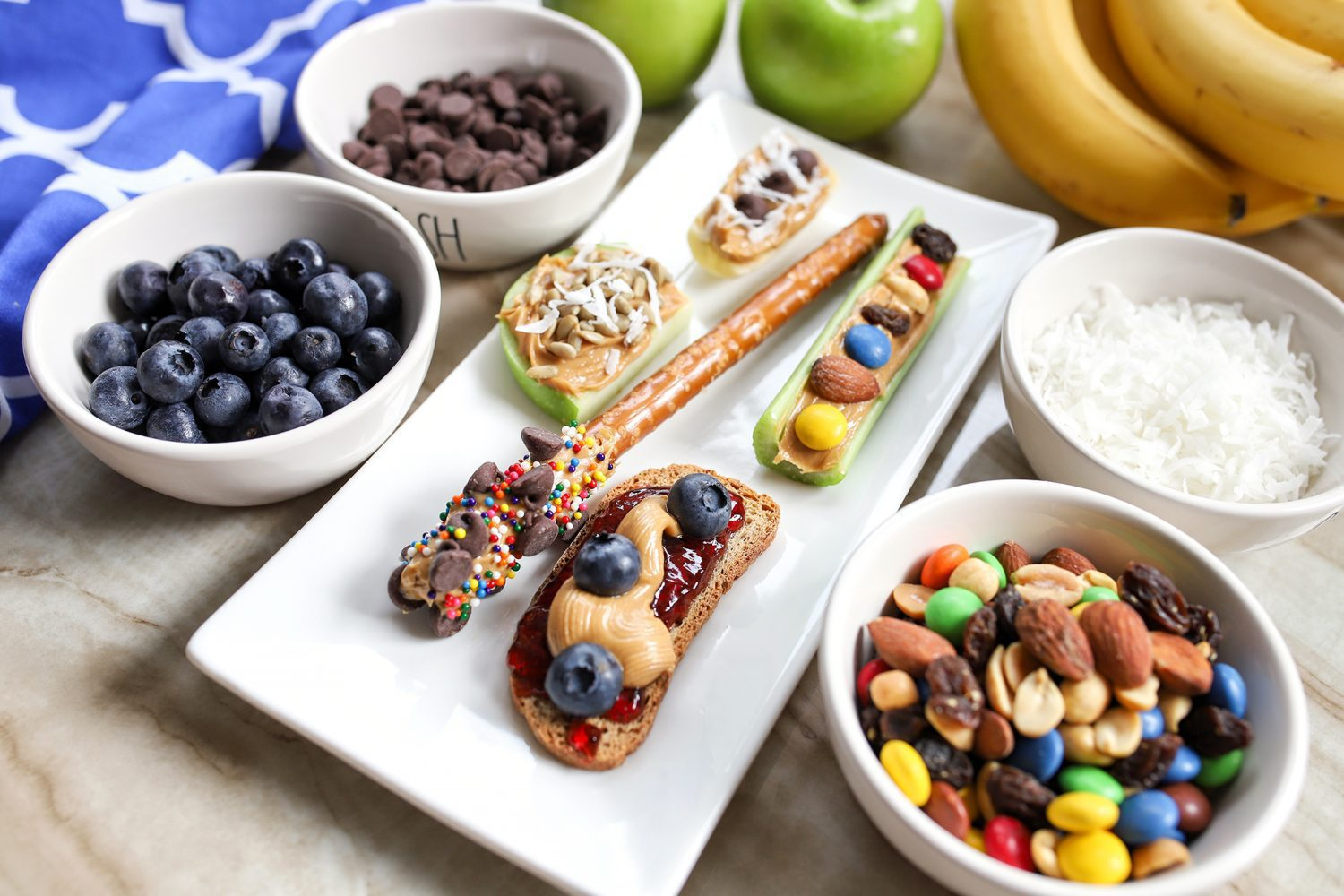 peanut butter snack options for kids