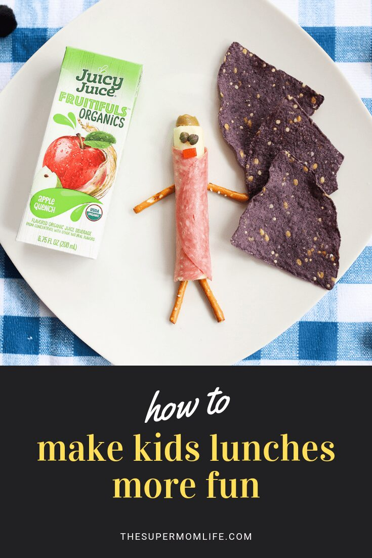 There is a way to make lunches more fun for kids. I'll let you in on a little secret... creating fun lunches is more fun for us parents too! Here's how to make Inspector Caper Eyes. Here's how to make him! #ad