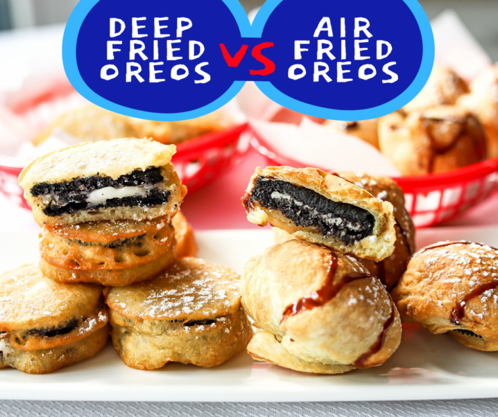 Air Fried Oreos vs. Deep Fried Oreos Challenge