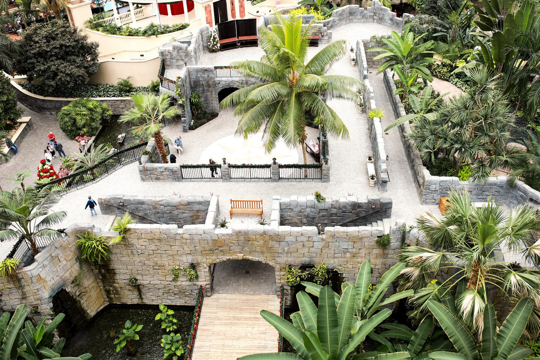 Atrium Inside Gaylord Palms Hotel in Orlando, FL