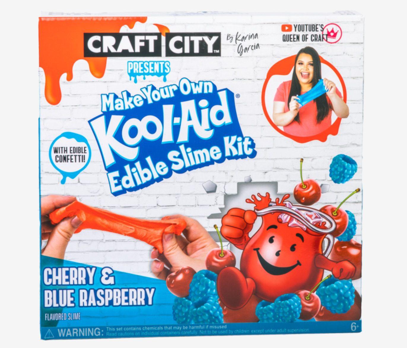 Craft City Make Your Own Kool-Aid Edible Slime Kit