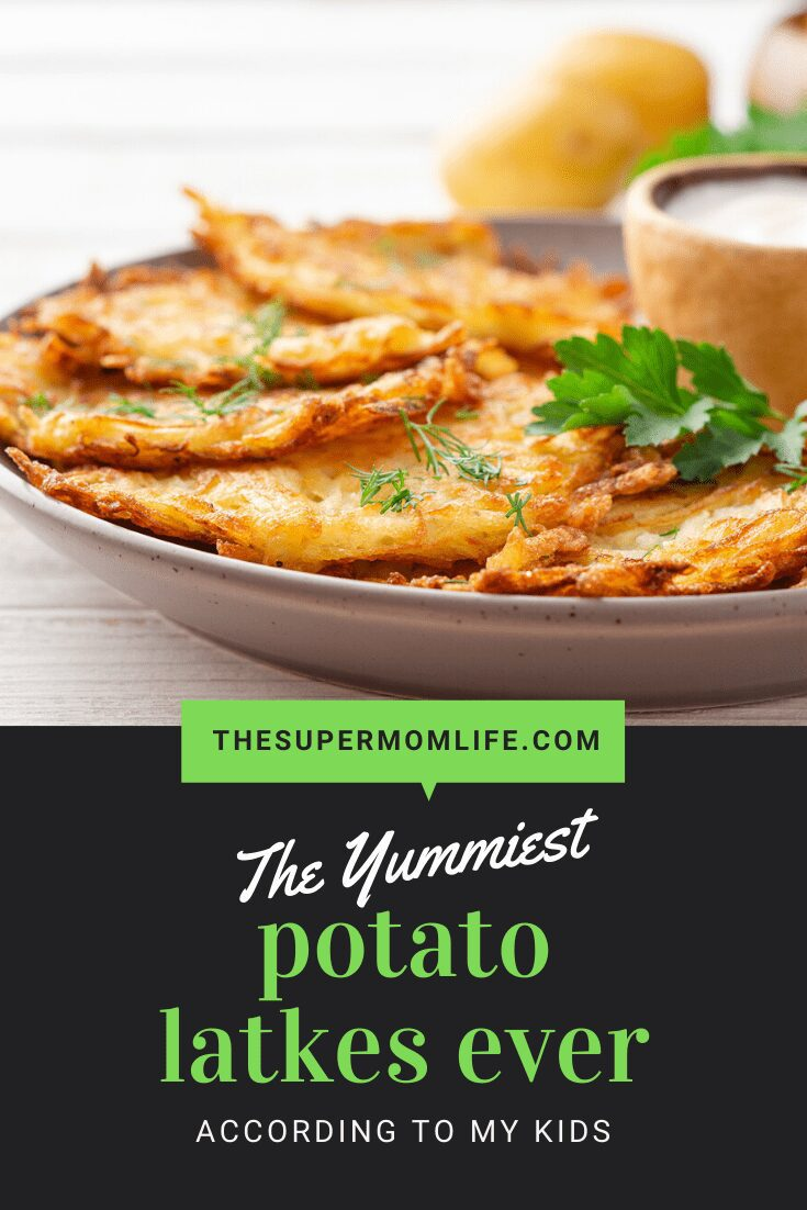 This potato latkes recipe is perfect not only for Hanukkah, but for any day of the year. They are crispy and packed with flavor.