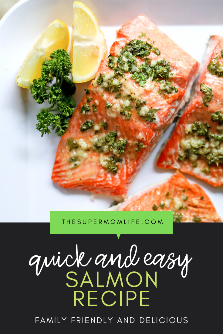 Looking for a quick and delicious meal? This easy salmon recipe is made with just a handful of ingredients and takes just minutes.