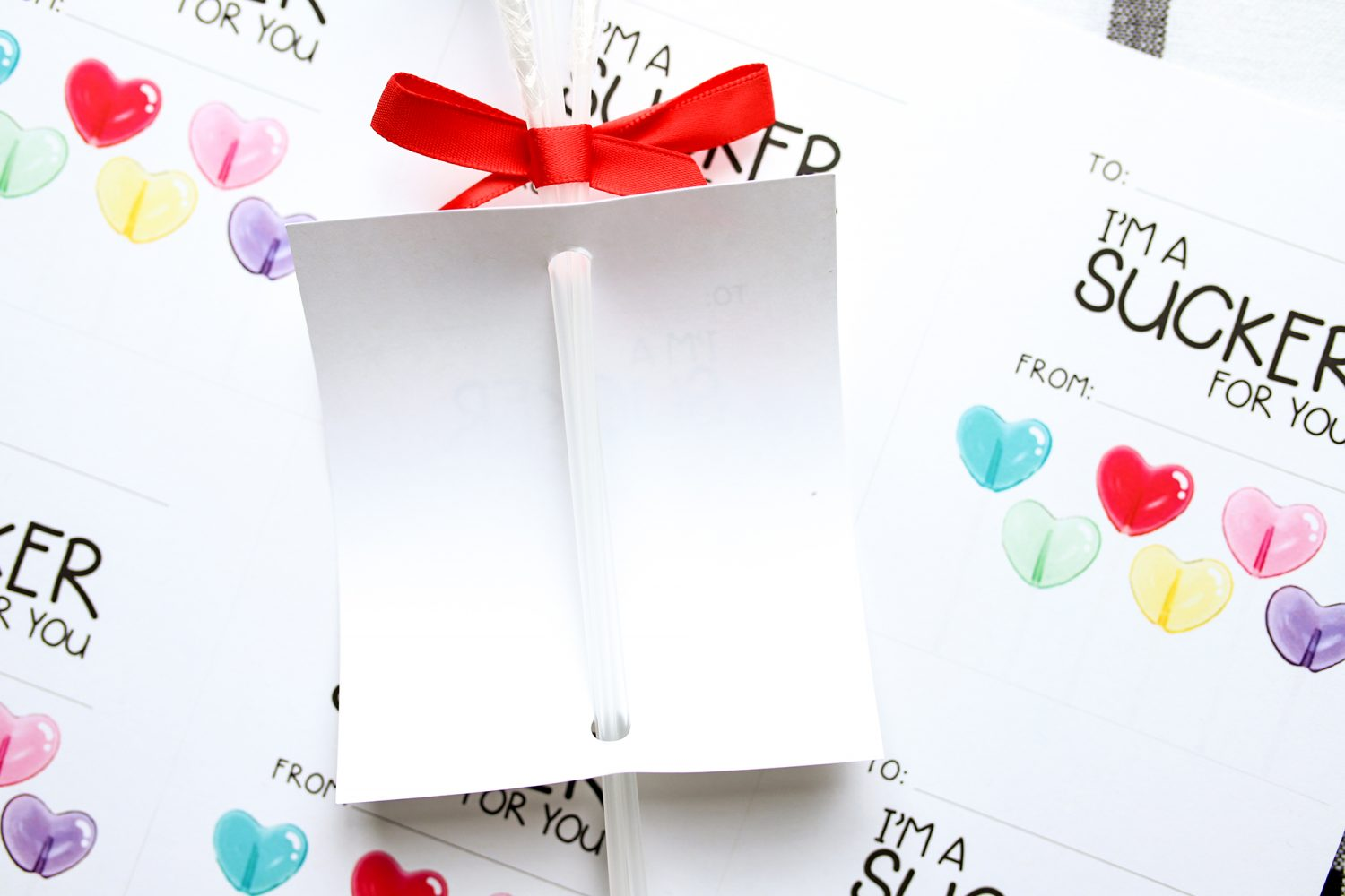 How to add a note to lollipops
