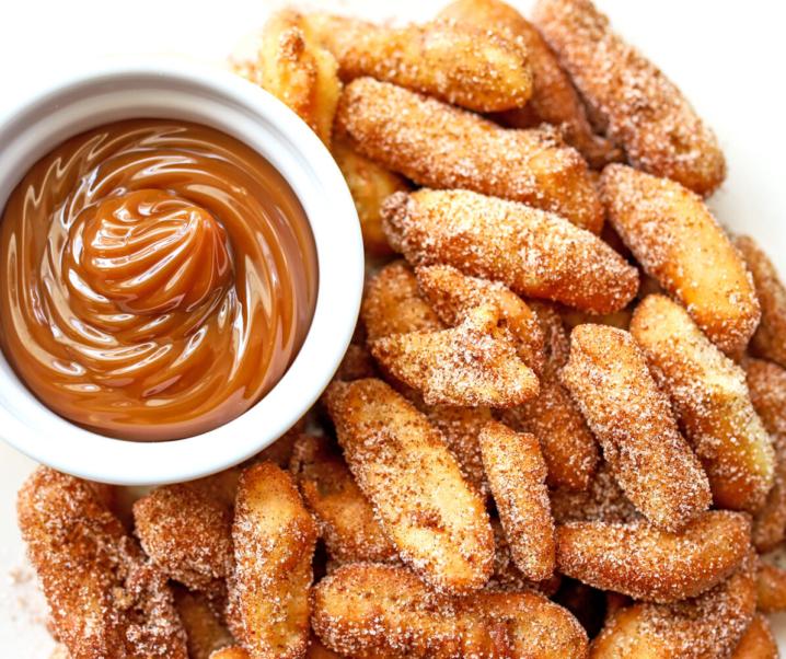 Cinnamon Sugar Apple Fries