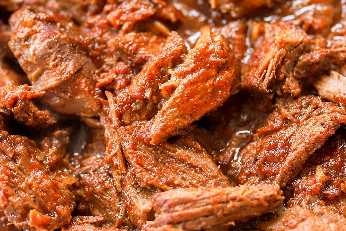 shredded bbq beef