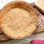 toasted coconut graham cracker crust