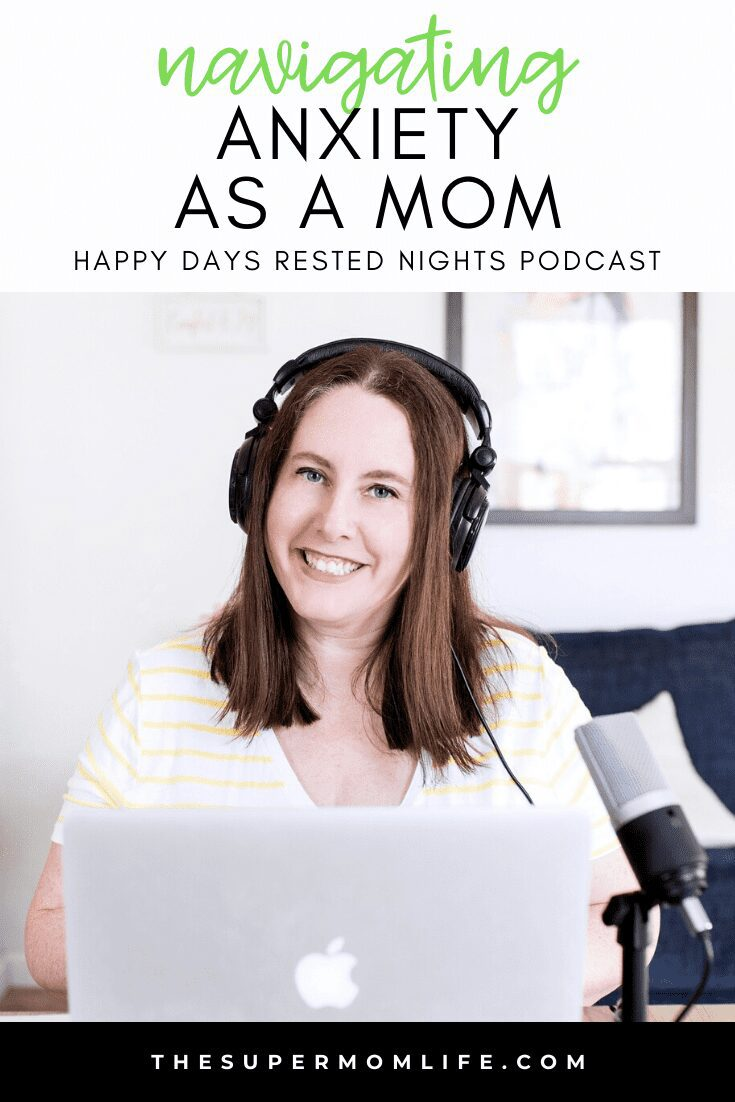 Let's talk anxiety. It's not easy to deal with, especially when you have responsibilities. Check out my recent guest spot on the Happy Days Rested Nights podcast.