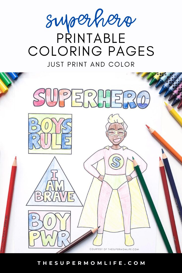 Looking for something to keep the kids busy? Download and print our superhero coloring pages and bring their imaginations to life!