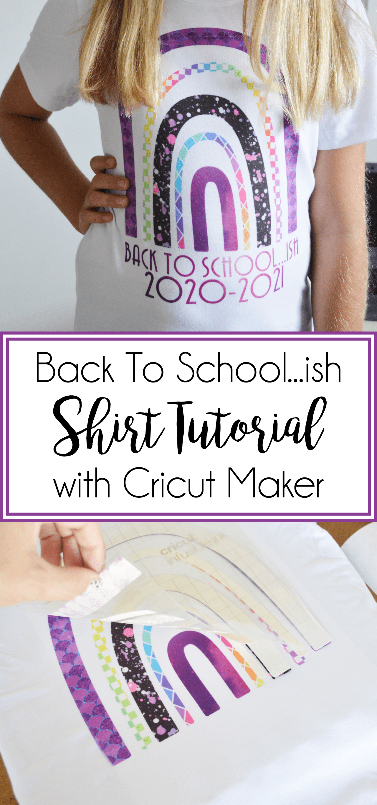 Obsessed with this adorable back to school t-shirt ideafrom Our Thrifty Ideas! Is there a better way to describe this year than Back to School-ish?