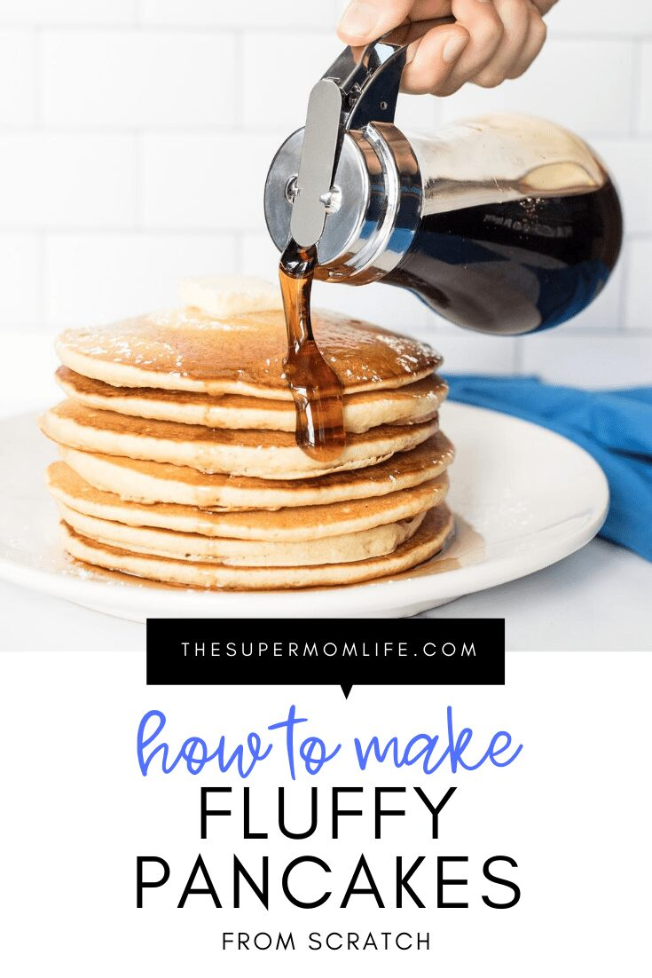 Is there anything better than a fresh, hot stack of pancakes in the morning? This recipe is so easy you'll want to make them all the time!