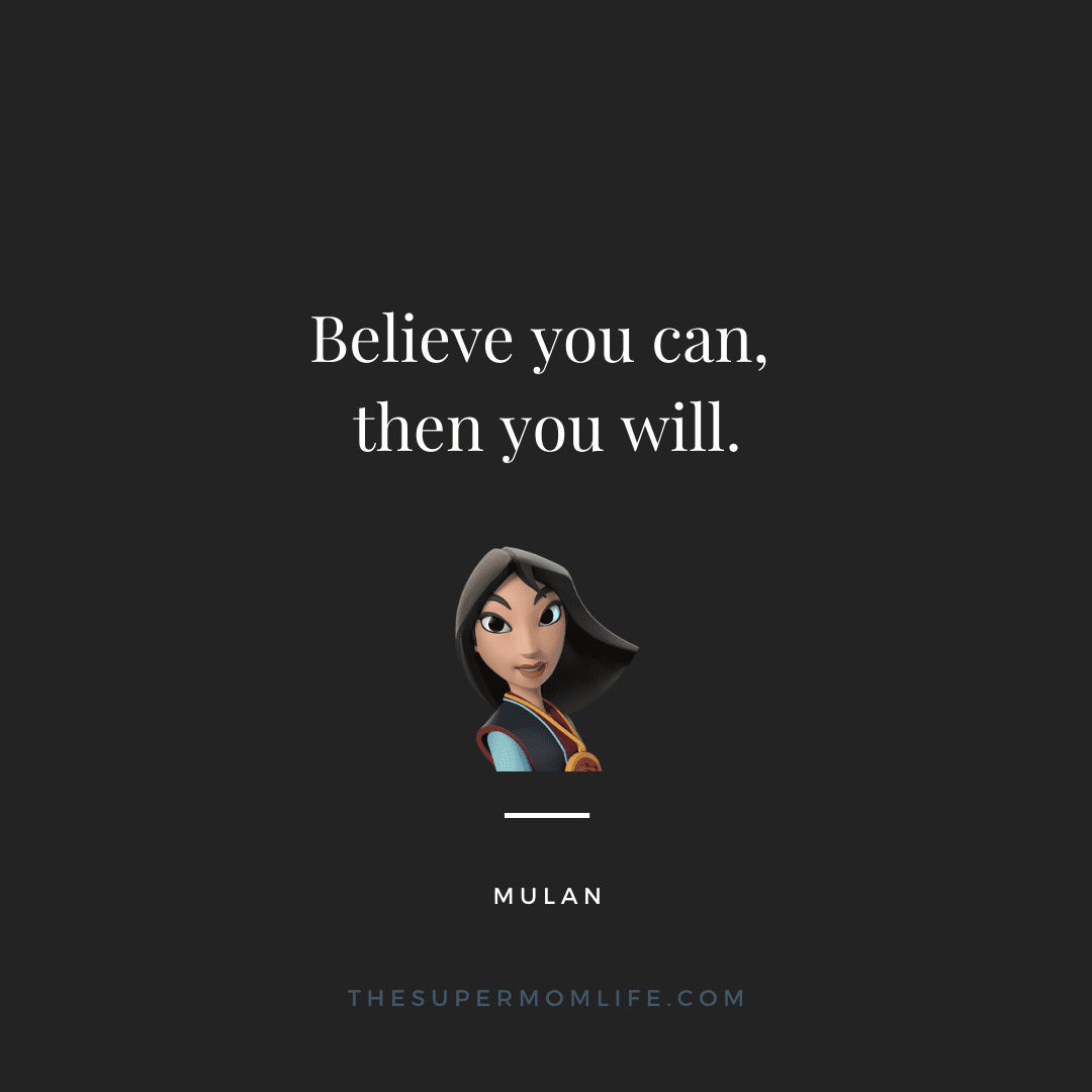Believe you can, then you will.