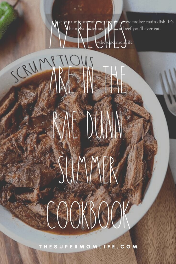 It still feels like a dream. I am so honored to be a part of Rae Dunn's Summer Cookbook!