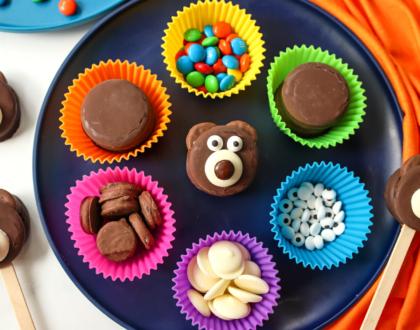 How to Make Teddy Bear Cookie Treats