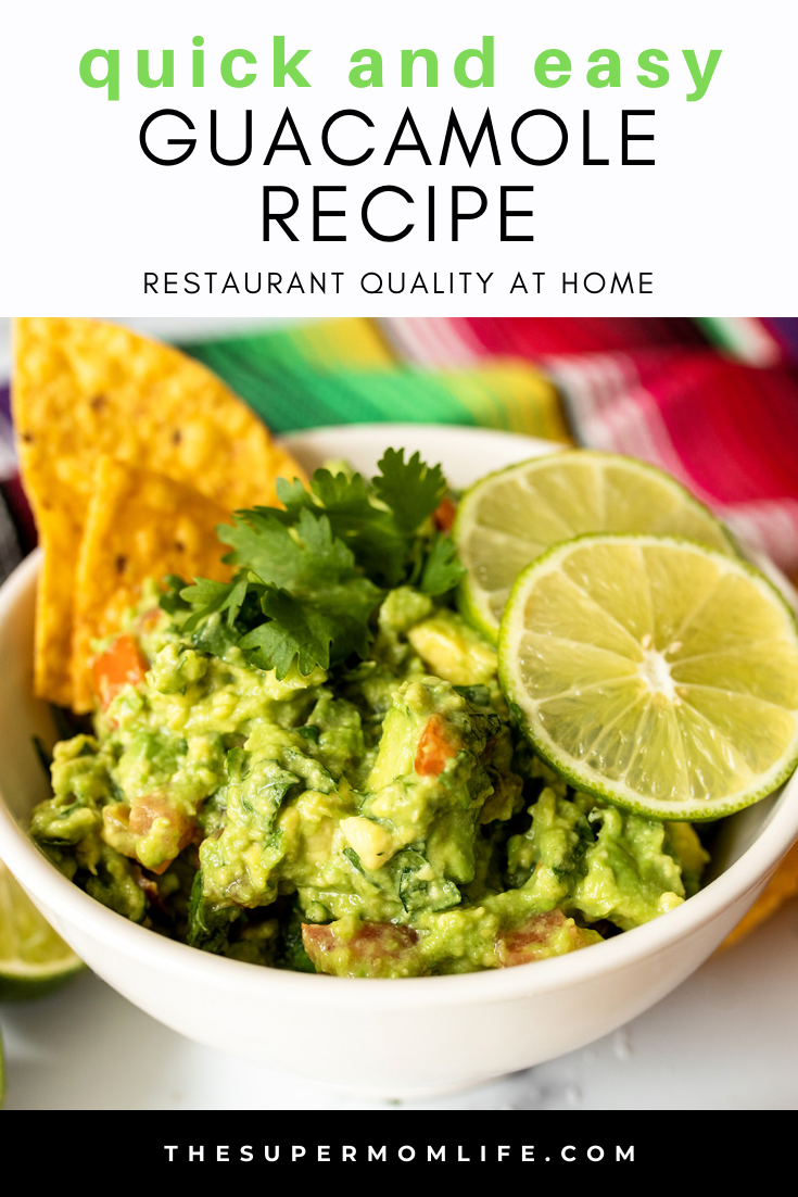 Love the guacamole at the restaurant but don't love the prices? You can make this quick and easy guacamole recipe at home. It's simple, healthy and fresh!