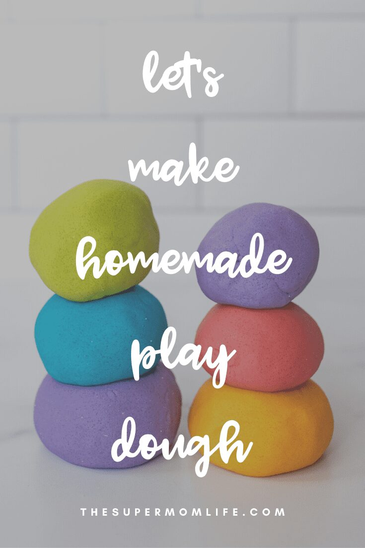 Looking for a fun activity for the kids? Why not make homemade play dough? It's fun and easy!