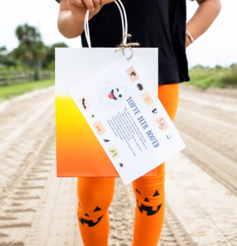You've Been Booed Free Printable for Halloween