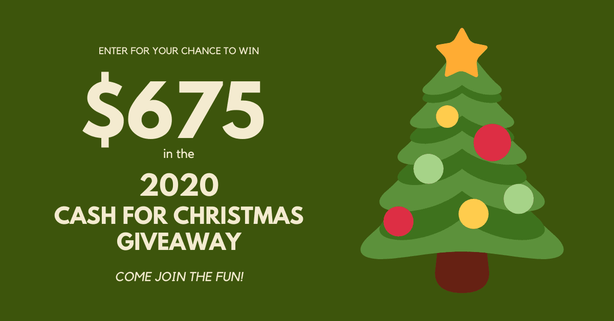 Ducks Christmas Giveway 2021 2020 Cash For Christmas Giveaway The Super Mom Life