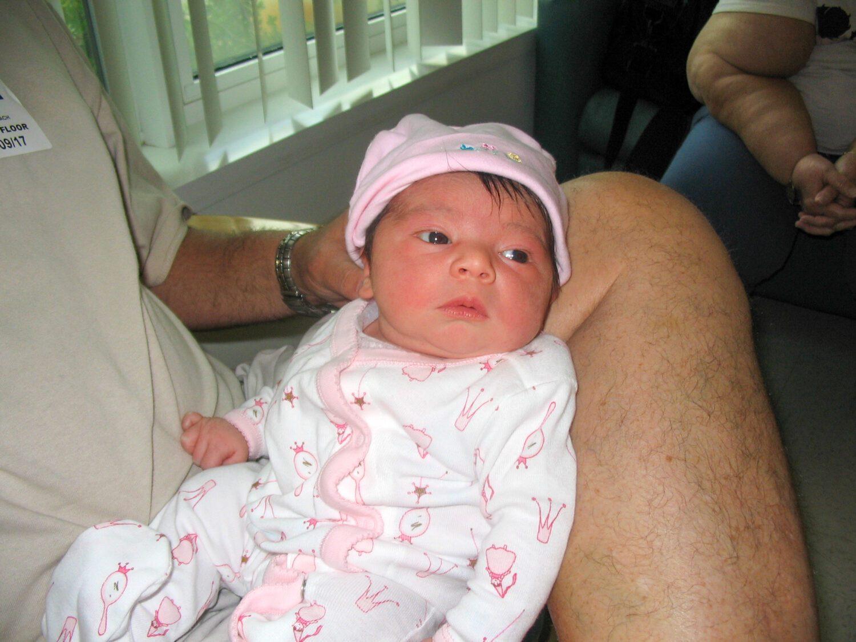 newborn baby girl birth story