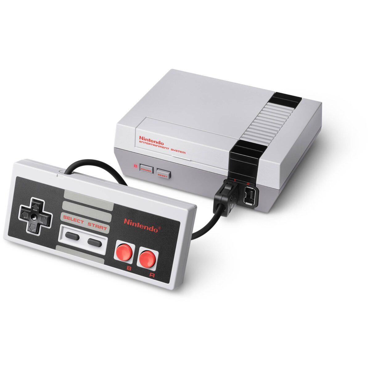 nintendo nes game console